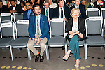 Indian actor Anil Kapoor and Madrid Mayor Manuela Carmena during the presentation of the IIFA Awards in Madrid. June 23, 2016. (ALTERPHOTOS/BorjaB.Hojas)