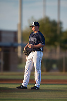 AZL Padres 2 starting pitcher Ryan Weathers (40) waits for Lee Solomon (not pictured) to round the bases after hitting a home run during an Arizona League game against the AZL Padres 1 at Peoria Sports Complex on July 25, 2018 in Peoria, Arizona. The AZL Padres 1 defeated the AZL Padres 2 10-1. (Zachary Lucy/Four Seam Images)