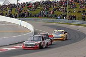 NASCAR Camping World Truck Series<br /> Chevrolet Silverado 250<br /> Canadian Tire Motorsport Park<br /> Bowmanville, ON CAN<br /> Sunday 3 September 2017<br /> Ryan Truex, Don Valley North Toyota / Weins Canada Toyota Tundra, \Ben Rhodes, Safelite Auto Glass Toyota Tundra and Todd Gilliland, Pedigree Toyota Tundra<br /> World Copyright: Russell LaBounty<br /> LAT Images