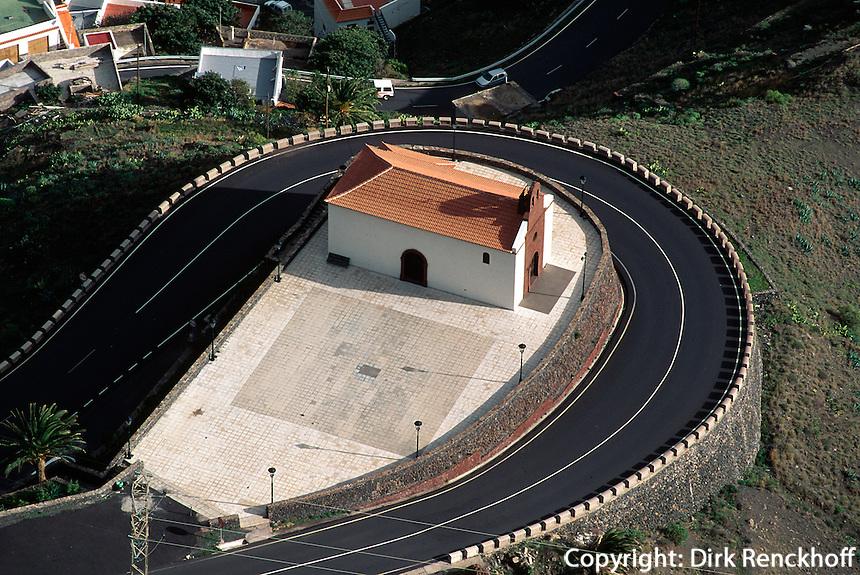 Spanien, Kanarische Inseln, Gomera, Blick vom Mirador del Palmarejo