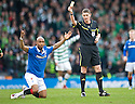 :: RANGERS' EL HADJI DIOUF IS BOOKED FOR DIVING ::