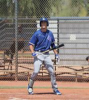 Evan Carter - Texas Rangers 2021 spring training (Bill Mitchell)