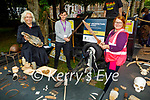 Attending the Architecture Kerry dig run by the Kerry County Museum in Pearse Park on Tuesday, l to r: Victoria McCarthy (Architecture Kerry), Jack Bambury and Claudia Kohler from the Kerry County Museum