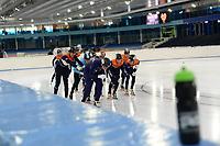 SCHAATSEN: HEERENVEEN: 27-07-2020, IJsstadion Thialf, Team NL Shorttrack, ©foto Martin de Jong