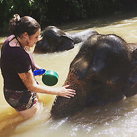 "Pictured: Chantelle Madonia in Thailand<br /> Re: Chantelle Madonia from Cardiff, south Wales, has died while on a ""dream trip"" to Australia.<br /> Chantelle, 23 was spending a year travelling there after completing a master's degree in global governance at the University of South Wales.<br /> She died in her sleep from a heart condition, her family said.<br /> Her mother, Lisa Madonia, said: ""I am heartbroken, but it comforts me to know that Chantelle died living her dream.""<br /> Mrs Madonia, of Cardiff, said her daughter had been five months into a year-long trip to Australia and had been working as a waitress in Sydney to pay for her travels."