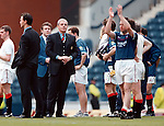 Walter Smith, Ally McCoist and Brian Laudrup bid farewell to Rangers at the end of the 1998 campaign