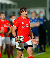 23th April 2021; RDS Arena, Dublin, Leinster, Ireland; Rainbow Cup Rugby, Leinster versus Munster; CJ Stander of Munster reacts the Referee Chris Busby blowing the full time whistle