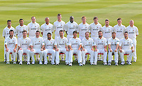 Essex CCC players pose for a team photograph in their LV County Championship Kit - Essex County Cricket Club Press Day at the Essex County Ground, Chelmsford, Essex - 02/04/13 - MANDATORY CREDIT: Gavin Ellis/TGSPHOTO - Self billing applies where appropriate - 0845 094 6026 - contact@tgsphoto.co.uk - NO UNPAID USE.