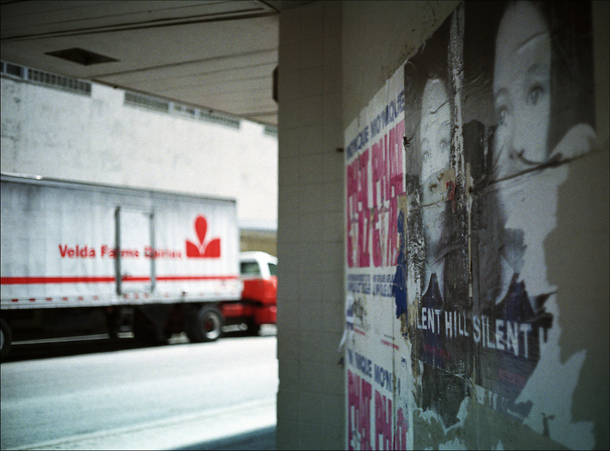 """Silent Hill<br /> From """"The machine to live in"""" series. Miami, 2006"""