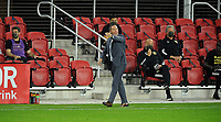 WASHINGTON, DC - OCTOBER 28: Caleb Porter Head Coach of Columbus Crew SC during a game between Columbus Crew and D.C. United at Audi Field on October 28, 2020 in Washington, DC.