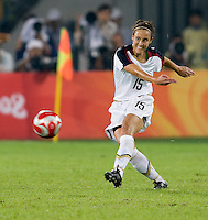 Kate Markgraf. The USWNT defeated Brazil, 1-0, to win the gold medal during the 2008 Beijing Olympics at Workers' Stadium in Beijing, China.