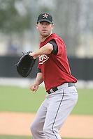 March 16th 2008:  Tip Fairchild of the Houston Astros minor league system during Spring Training at Osceola County Complex in Kissimmee, FL.  Photo by:  Mike Janes/Four Seam Images