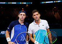 Rotterdam, The Netherlands, 11 Februari 2020, ABNAMRO World Tennis Tournament, Ahoy, Tallon Griekspoor (NED) (L)  vs  Filip Krajinovic (SRB)<br /> <br /> Photo: www.tennisimages.com