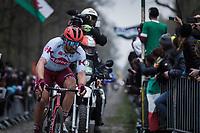 Marco Haller (AUT/Katusha Alpecin)<br /> <br /> 117th Paris-Roubaix (1.UWT)<br /> 1 Day Race: Compiègne-Roubaix (257km)<br /> <br /> ©kramon