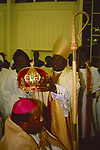Halibethian Church,'based upon the principles of Christ', The enthronement of Bishop Barrington Young. Harlesden north west London.
