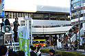 Japan Restoration Party Deputy Leader Toru Hashimoto Delivers Steet Speech for Coming General Electi