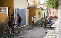 27/07/18<br /> <br /> A horse and carts speeds up steep hill, Trinidad, Cuba.<br /> <br /> All Rights Reserved, F Stop Press Ltd. (0)1335 344240 +44 (0)7765 242650  www.fstoppress.com rod@fstoppress.com