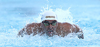 Nuoto 55 Settecolli trophy Foro Italico, Rome on June 29 2018.<br /> Swimmer Chad Le Clos, of South Africa, competes in the men's 100 meters butterfly at the Settecolli swimming trophy in Rome, on 29 June, 2018.<br /> UPDATE IMAGES PRESS/Isabella Bonotto
