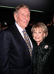 Sumner Redstone with his wife Phyllis Gloria Raphael attending the VH-1 Fashion Awards in New York City on October 23, 1998.