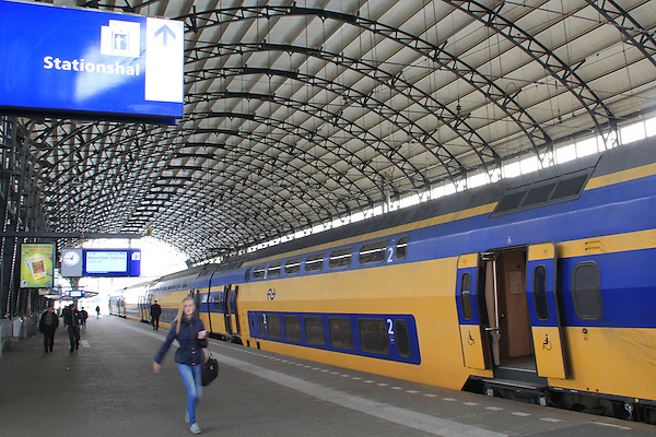Centraal Station in Amsterdam, Netherlands