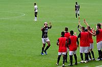 São Paulo (SP), 07/03/2021 - CORINTHIANS-PONTE PRETA - João Veras, da Ponte Preta comemora o gol. Corinthians e Ponte Preta partida válida pela terceira rodada do Campeonato Paulista 2021, na Neo Química Arena, neste domingo (07).