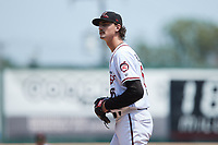 Richmond Flying Squirrels starting pitcher Sean Hjelle (65) during the game against the Bowie Baysox at The Diamond on July 28, 2021, in Richmond Virginia. (Brian Westerholt/Four Seam Images)