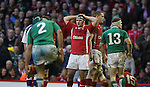 A dejected Ken Owens at the final whistle as Wales lose to Ireland..RBS 6 Nations.Wales v Ireland.Millennium Stadium.02.02.13.©Steve Pope-SPORTINGWALES