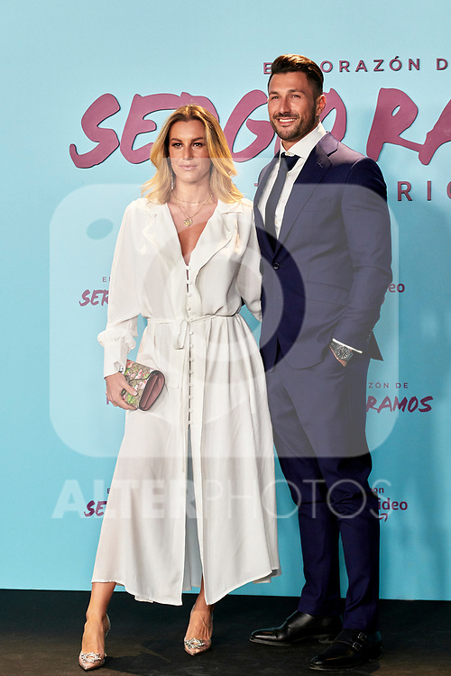 Eden Hazard in the world preview of EL CORAZÓN DE SERGIO RAMOS, documentary series about the life of the captain of Real Madrid and the Spanish Soccer Team, at the Reina Sofía Museum on September 10, 2019 in Madrid, Spain.<br />  (ALTERPHOTOS/Yurena Paniagua)