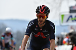 Adam Yates (GBR) Ineos Grenadiers crosses the finish line at the end of the 2021 Flèche-Wallonne, running 193.6km from Charleroi to Huy, Belgium. 21st April 221.  <br /> Picture: Serge Waldbillig | Cyclefile<br /> <br /> All photos usage must carry mandatory copyright credit (© Cyclefile | Serge Waldbillig)