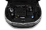 Car Stock 2020 Volkswagen Passat-Variant Elegance-Business 5 Door Wagon Engine  high angle detail view