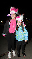 20/11/13<br /> Fans Kerri Callan (12) and Lisamaria Casey (6) pictured arriving to the Cheerios Childline Concert at the O2 Dublin this evening….<br /> Pic Collins Photos