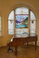 Europe/Pologne/Lodz: intérieur de la Villa Léopold Kinderman - art nouveau