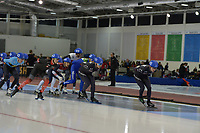 SPEEDSKATING: 16-02-2020, Utah Olympic Oval, ISU World Single Distances Speed Skating Championship, Mass Start Men, ©photo Martin de Jong