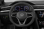 Car pictures of steering wheel view of a 2021 Volkswagen Arteon-SB R-Line 5 Door Wagon Steering Wheel