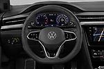 Car pictures of steering wheel view of a 2021 Volkswagen Arteon-SB R-Line 5 Door Wagon Steering Wheel