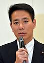 Maehara Runs for PM's Race