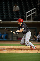 Chattanooga Lookouts Mitch Nay (29) at bat during a Southern League game against the Birmingham Barons on May 1, 2019 at Regions Field in Birmingham, Alabama.  Chattanooga defeated Birmingham 5-0.  (Mike Janes/Four Seam Images)