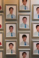 China; Peking (Beijing); Beijing Planning Exhibition Hall, Qianmendong Dajie 20, Galerie der Mitarbeiter