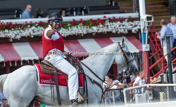 09042021: The JOCKEY GOLD CUP day at Saratoga<br /> Robert Simmons/Eclipse Sportswire