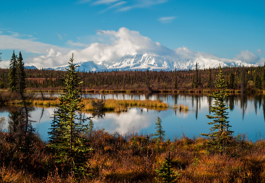 Mount Sanford, Nabesna Road, Alaska.