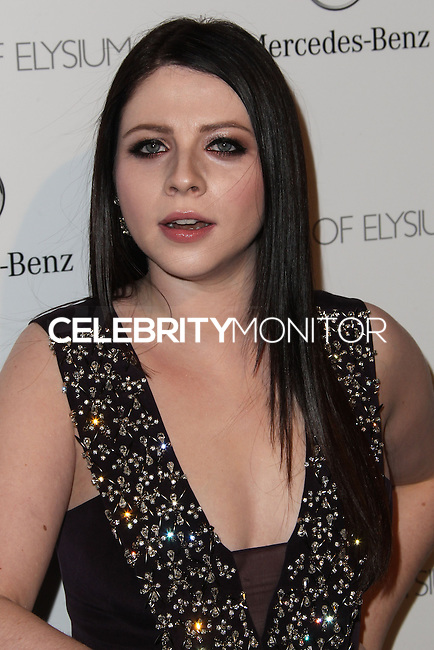 LOS ANGELES, CA - JANUARY 11: Michelle Trachtenberg at The Art of Elysium's 7th Annual Heaven Gala held at Skirball Cultural Center on January 11, 2014 in Los Angeles, California. (Photo by Xavier Collin/Celebrity Monitor)
