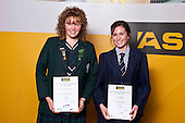 Girls Yachting finalists Bianca Barbarich_Bacher & Lexi Langley. ASB College Sport Auckland Secondary School Young Sports Person of the Year Awards held at Eden Park on Thursday 12th of September 2009.