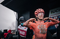 Marianne Vos (NED/CCC) post-race<br /> <br /> UCI cyclo-cross World Cup Dendermonde 2020 (BEL)<br /> Women's Race<br /> <br /> ©kramon