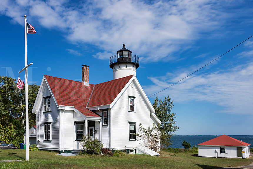 West Chop Lighthouse, Vineyard Haven, Martha's Vineyard, Massachusetts, USA
