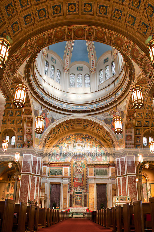 Named after Saint Matthew the Apostle, the patron saint of civil servants, the Cathedral of St. Matthew the Apostle in Washington, DC is the seat of the Archbishop of Washington.  Built in 1893 and designed by the notable New York architect, C. Grant La Farge, the cathedral boasts an exquisitely beautiful interior.