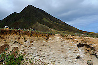 Puzzolana = Trass (Gestein) auf Santo Antao, Kapverden, Afrika