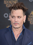 """Johnny Depp attends The Premiere Of Disney's """"Alice Through The Looking Glass"""" held at The El Capitan Theatre  in Hollywood, California on May 23,2016                                                                               © 2016 Hollywood Press Agency"""