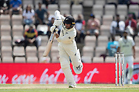 Devon Conway, New Zealand drives down the ground for four runs during India vs New Zealand, ICC World Test Championship Final Cricket at The Hampshire Bowl on 23rd June 2021
