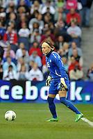 Canada goalkeeper Erin McLeod.
