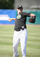 Scott Moore of the Kane County Cougars during the Midwest League All-Star game.  Photo by:  Mike Janes/Four Seam Images